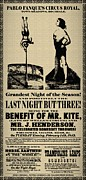 Beatles Mixed Media Posters - For the Benefit of Mr Kite Poster by Bill Cannon