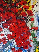 Pallet Knife Prints - For You  Print by Shilpi Singh