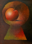 Apple Art - Forbidden Apple by Elena Melnikova