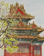 - Occupy Beijing Paintings - Forbidden City Beijing by Ruth Greenlaw