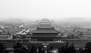 Forbidden City Prints - Forbidden City In Beijing Print by By Marin.tomic