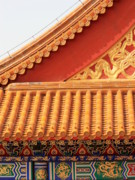 Forbidden City Prints - Forbidden City Rooftop Splendor Print by Carol Groenen