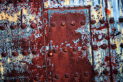 Rusty Door Prints - Forbidden Door  Print by Carol Groenen
