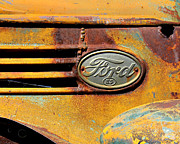Paint Photograph Prints - Ford 85 Print by Perry Webster