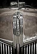 Art Deco Posters - Ford Chrome Grille Poster by Marilyn Hunt