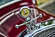 Moto Meter Prints - Ford Hood Ornament MotoMeter Print by Paul Ward