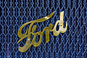 Intellectual Property Posters - Ford Logo Poster by Diane D Miller