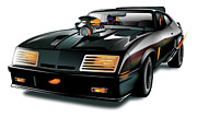 Interceptor Prints - Ford MM XB Print by Brian Gibbs
