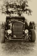 Model A Digital Art Posters - Ford Model A Poster by Bill Cannon
