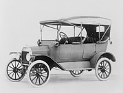 Ford Model T Car Posters - Ford Model T Touring Car.  Model Ts Poster by Everett