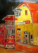 Michael Litvack Art - Ford Petrocan by Michael Litvack