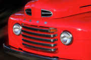 Vintage Pickups Prints - Ford Pickup Print by Tom Griffithe