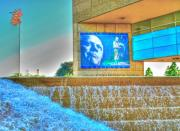 Presidential Digital Art Prints - Ford Presidential Museum-2 Print by Robert Pearson