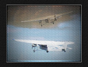 Ford Trimotor Framed Prints - Ford Trimotor Framed Print by John Breen