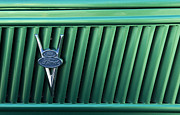 Truck Detail Prints - Ford  Truck Emblem Print by Bob Christopher