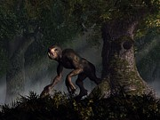 Forest Creeper Print by Daniel Eskridge