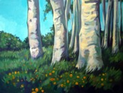 Meadow Flowers Originals - Forest by Filip Mihail