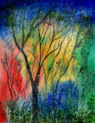 Wooded Originals - Forest Fire by Brenda Owen