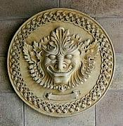 Home Reliefs - Forest God Wall plaque by Goran