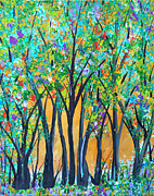 Forest Jubilee Print by Sue Holman