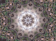 Mandalas Digital Art - Forest Mandala 4 by Rhonda Barrett