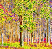 Cottonwood Digital Art - Forest Of The Mind by Will Borden