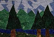 Featured Tapestries - Textiles Originals - Forest by Pam Geisel