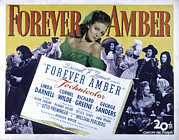 1947 Movies Photos - Forever Amber, Linda Darnell, 1947 by Everett