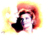 Katherine Hepburn Prints - Forever Print by Arne Hansen