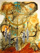 Dreamcatcher Art Mixed Media - Forever by David Raderstorf