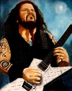 Dimebag Paintings - Forever Dimebag by Al  Molina