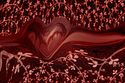 Hearts Digital Art - Forever Love by Linda Sannuti