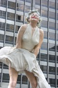 Joe Dimaggio Art - Forever Marilyn - 2 by David Bearden