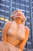 Joe Dimaggio Art - Forever Marilyn - 3 by David Bearden