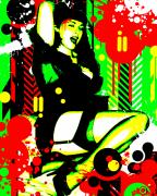 Eclectic Mixed Media - Forever Pinup I by Chris Andruskiewicz