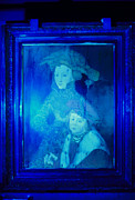 Forged Framed Prints - Forged Painting Seen Under Ultraviolet Light Framed Print by Volker Steger