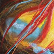 Forgiveness Paintings - Forgiven Part One by Jennifer Anderson