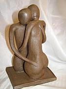 Sculptures Ceramics - Forgiven by Sandi Floyd