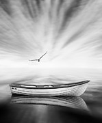 Boat Digital Art - Forgotten by Photodream Art