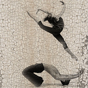 Dancer Art Metal Prints - Forgotten Romance 5 Metal Print by Irina  March