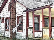 Old Home Place Prints - Forgotten Print by Susan Leggett