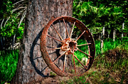 High Dynamic Range Photos - Forgotten Wheel by Niels Nielsen
