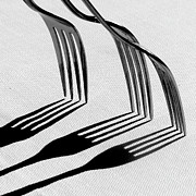 Order Prints - Forks With Shadows Print by Photo by DANIELA NOBILI
