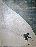 Ski Painting Originals - Form by Michael Cuozzo