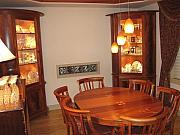 Food Sculptures - Formal dining room in mahogany by Scott Reuman