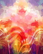 Spiritual Abstract Digital Art - Formations by Ann Croon
