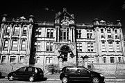 Former Kilmarnock Technical School And Academy Building Now Academy Apartments Scotland Uk Print by Joe Fox