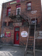 Prostitution Art - FORMER OASIS BORDELLO in WALLACE IDAHO MINING TOWN by Daniel Hagerman