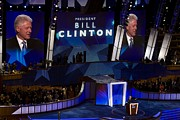 Former President Bill Clinton Addresses Print by Everett