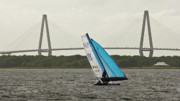 F-18 Catamaran Prints - Formula 18 Sailing Cat Big Booty Charleston SC Print by Dustin K Ryan